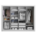 18 Cool Guarda Roupa 4 Portas Design Surpreendente